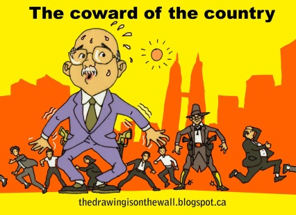 coward of the country